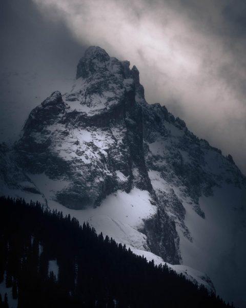 """My artwork from the mountain """"Zimba."""" . . Eine echte Herausforderung im Rätikon ..."""