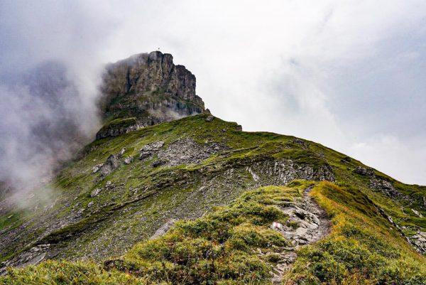Hoher ifen in den Wolken #alps #hoherifen #alpen #bergwandern #vorarlberg #alpensucht Hoher Ifen