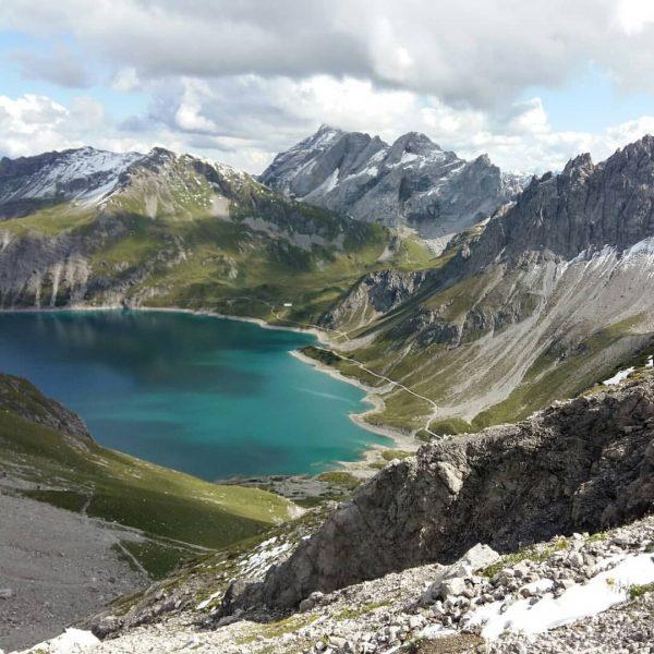 schöner wars, viel schöner als das Foto #bergwelt #myday #vorarlbergwandern #bergtour #rätikon #hikingwithfriends ...