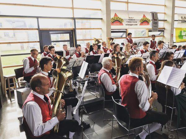 Kilbifrühschoppen 2019 Am Sonntag durften wir wie jedes Jahr die Kilbi musikalisch umrahmen. ...