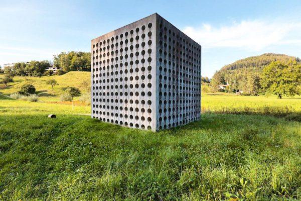 • Wasserhaus St. Arbogast • Fridolin Welte, Entwurf- und Detailkonzeption; Architektur: Christian Lenz, ...