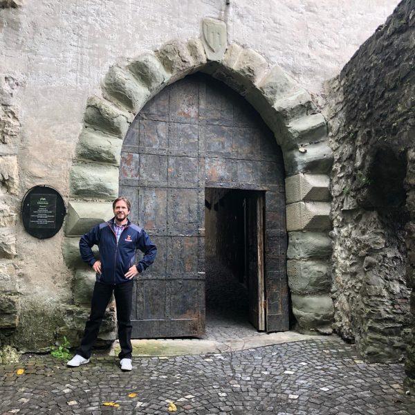 Shattenburg Castle aka Schnitzel Castle in Feldkirch Austria. Best schnitzel in town. . ...