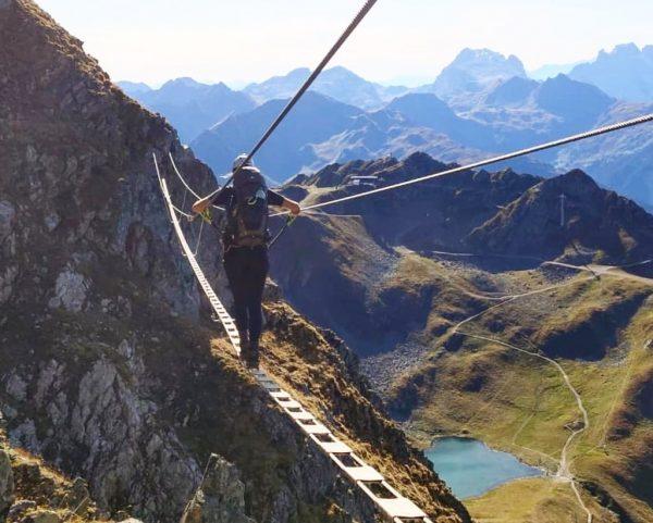 ⛰ #fürmehrmutausbrücheimleben #happyweekend #viaferrata #hochjoch #travelaustria #silvrettamontafon #schwarzsee #kälbersee #herzsee #höhenluft #mountainlovers #wormserhütte ...