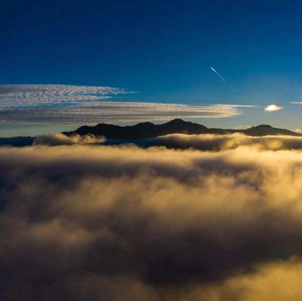 Autumn in three pics. . . . . #autumn #three #pic #foggy #sunrise ...