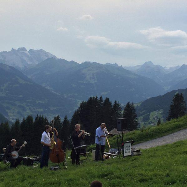 Jazz-Picknick der #montafonerresonanzen am #kristberg - ein wirklich besonderes Erlebnis 😊