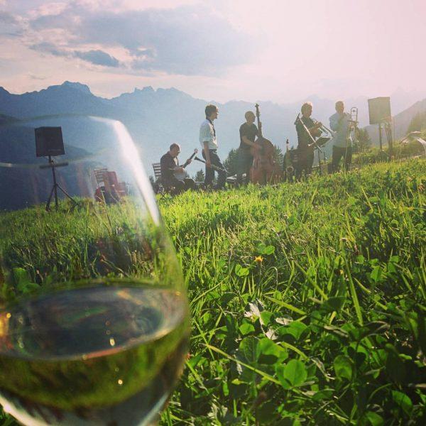 #jazz #picknick #kristberg #meinmontafon #rießling #montafonerresonanzen Panoramagasthof Kristberg