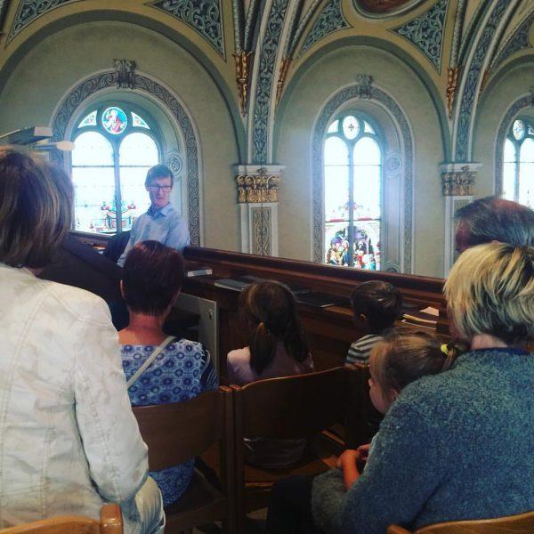 Orgelworkshop mit Martin Heini in der Pfarrkirche Schruns #orgel #montafonerresonanzen #septimo #schruns #montafon