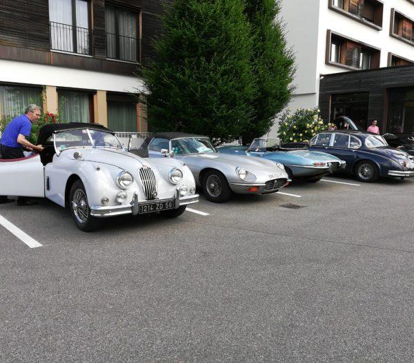 Treffen der Amicale Jaguar - wunderschöne Oldtimer #feldkirch #hotels #hotel #hotelweisseskreuz #visitfeldkirch #visitvorarlberg ...