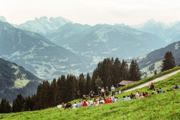 jazz picnic with a view #montafonerresonanzen #jazzpicknick #musicfestivals #meinmontafon #kristberg #visitvorarlberg #visitaustria #rätikon ...
