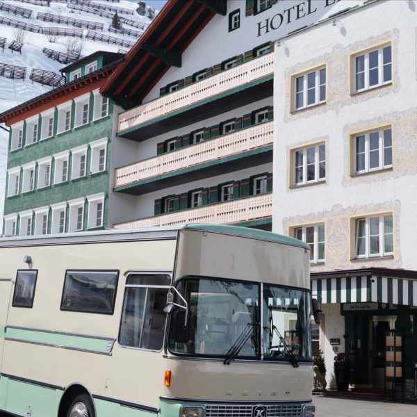 #travel.inmybus, #coworkbus, Hotel Edelweiss/Zürs