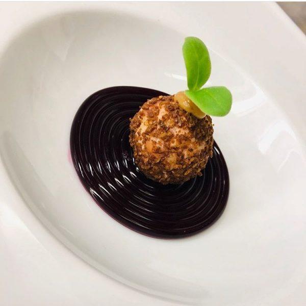 appetizers #roteBeete #Lachspraline #senf #GrußausderKüche #foodlover #cooker Vitalquelle Montafon