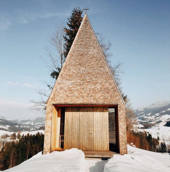The chapel 🇦🇹 ___ #bernardobader #architecture #kapelle #salgenreute #austria #nomansland #architektur #minimalist