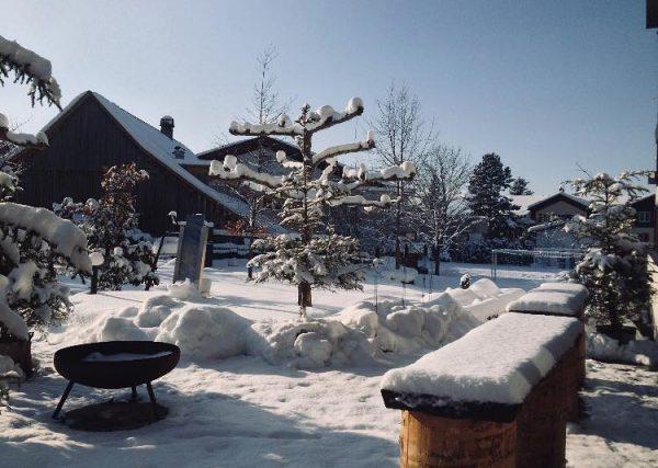 Winter Wonderland bei uns im Rössle ☀️🗻 #sonne #ländleliebe #schnee