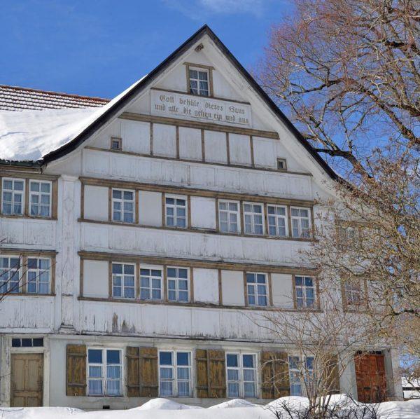 Appenzell im Winter - nur ein Katzensprung von Feldkich #hotelweisseskreuz #bodenseevorarlberg #visitvorarlberg #visitfeldkirch ...