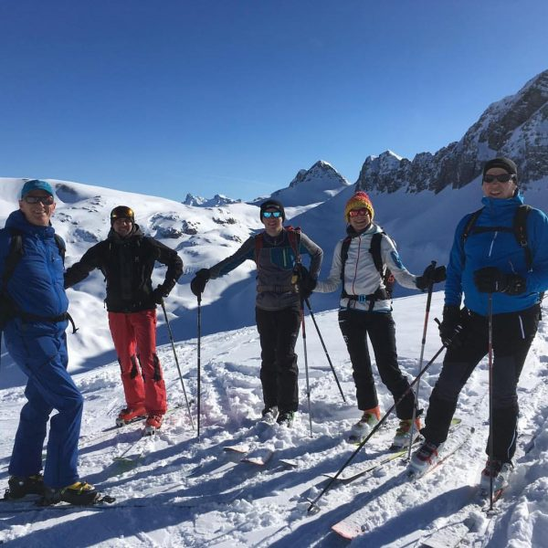 Danke für die wundervolle Skitour lieber Markus Strolz ⛷@hoteladlerwarth #hoteladlerwarth Hotel Adler Warth