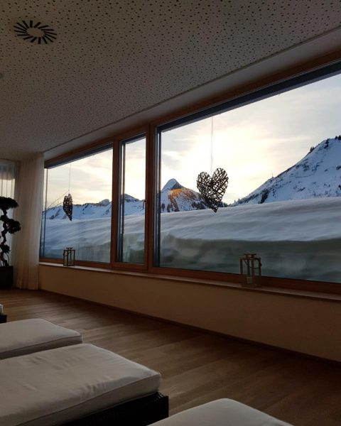 Ein neuer Urlaubstag beginnt... ☀️❄️☺️ #winterurlaub #urlaub #schnee #wellness #relax #holiday #vacation #spa ...