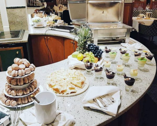 A small part of our dessert buffet, we had a bit of everything ...