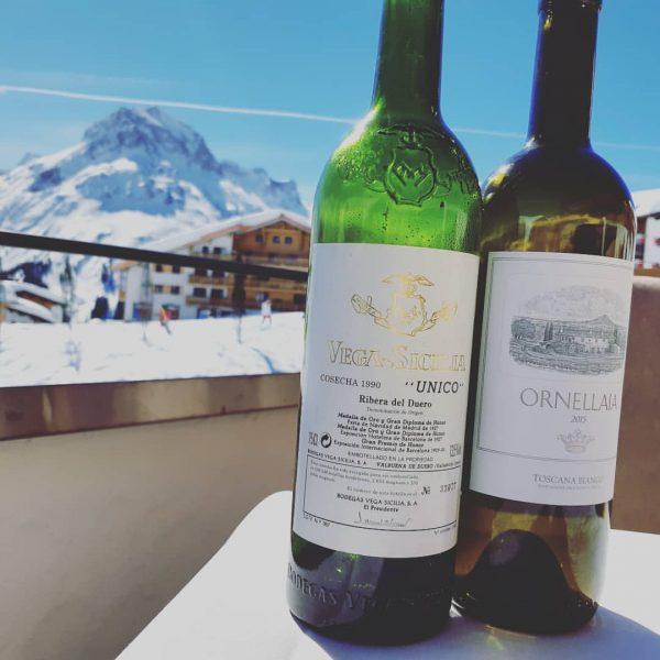 what a beautifull das #burgvitalresort #vegasicilia 1990 #tenutadellornellaia ornellaia blanc #somlife #austriansommelier #wine ...