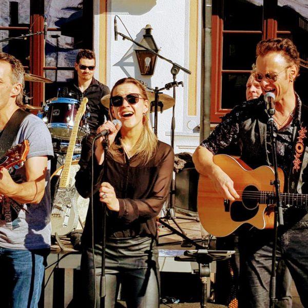 #wolfgangfrank #band #party #lechamarlberg #tannbergerhof #openair Lech, Vorarlberg, Austria