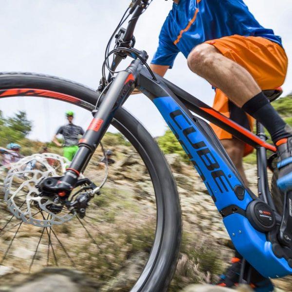 wir starten am 15. Juni mit unseren Neuen E - Mountainbikes und vielen ...