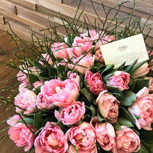...während es draußen kalt ist, sprießen drinnen die Blumen in wunderschönen Frühlings-Farben! 💕🌷 ...
