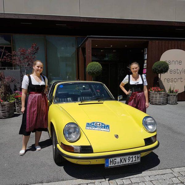 Neuses Dienstauto :-) #sonnemellau # #sonnenstrahlen #sonnelifestyleresortbregenzerwald #wellness #seminar #erwachsenenhotel