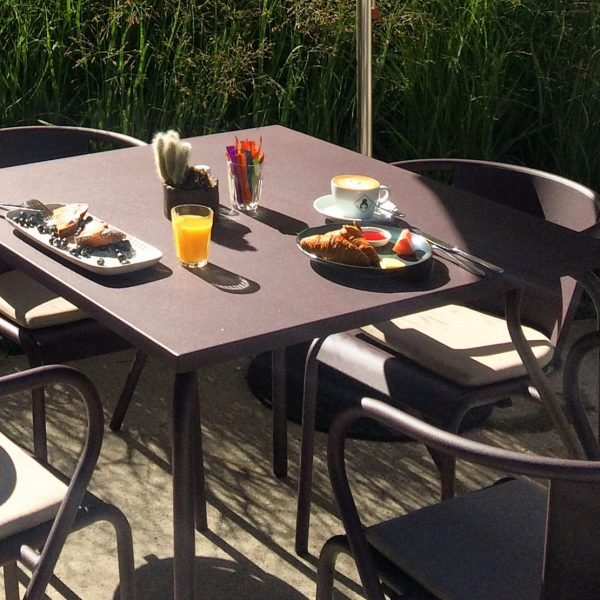 Good morning from our terrace with #superbreakfast 7 days a week 😘 #baerenmellau ...