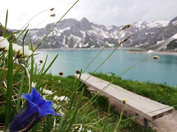 Lünersee 😊 #see #lünersee #vorarlbergwandern #hike #wandern #alpen #mountains #myaustria #meinmontafon #amazing #feelgood ...
