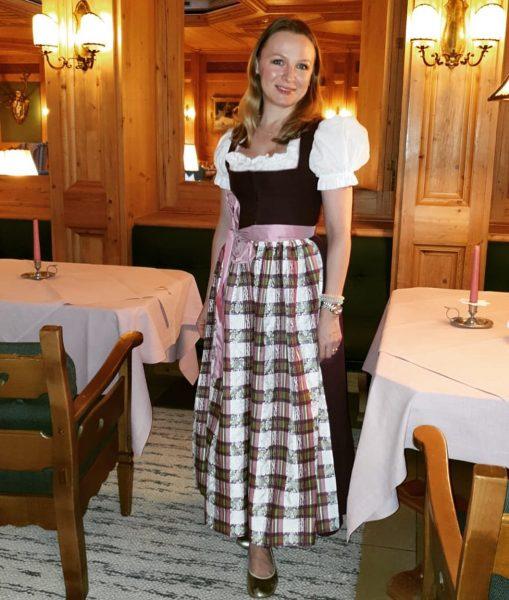 Beginning of Lech Classic Festival, wonderful occasion to wear my Dirndl again! 👗💜 ...