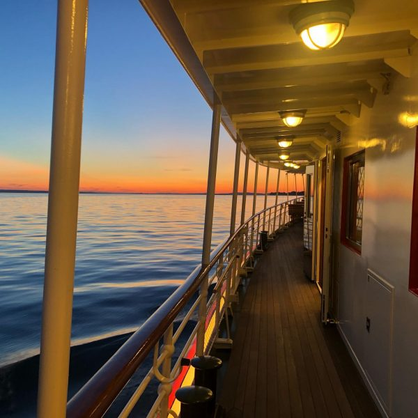 Today's Sundowner Cruise aboard MS Oesterreich - almost incredible #sundowner #bodensee #lakeconstance #msoesterreich ...