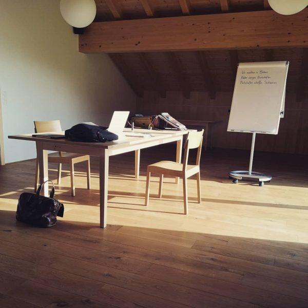 Neue Perspektiven schaffen. Mit vielen, statt alleine. #wandel #diehütte Berghof Bezau