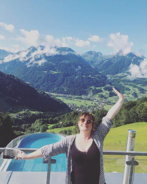 Un bol d'air frais ! 🇦🇹🏔☀️ #vacances #autriche #vuededingue #montagne #enfamille Hotel Fernblick ...