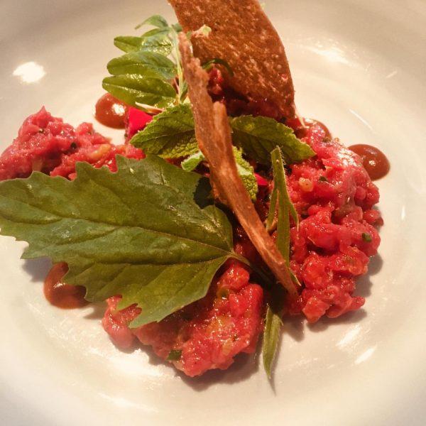 #beeftartar #rohesfleisch #herrlich Restaurant Mangold