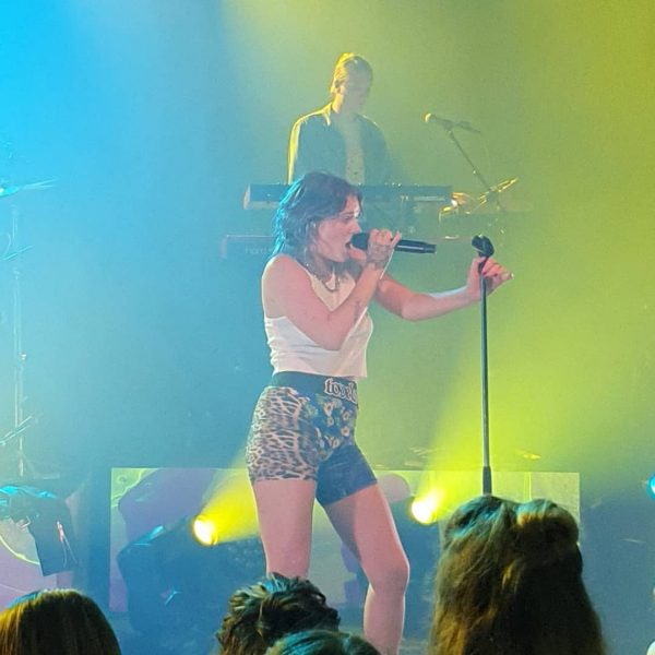 Tove Lo performing Live at Poolbar Festival at Feldkich Austria on 07Aug19. This ...