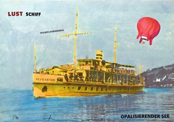Art déco meets Art. Zur Langen Nacht der Museen2019wird das Luftschiff Euter von ...