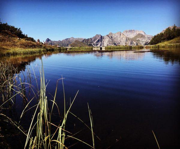 Natural Infinity Pool 🏊♂️🏔☀️ #infinitypool #vorarlberg #sonnenkopf #dalaas #visitvorarlberg #hiking #wandern #wandernmachtglücklich #österreich ...