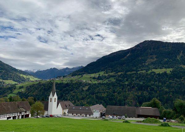 #propstei #stgerold with view to #raggal #grosseswalsertal #vorarlberg #austria Sankt Gerold