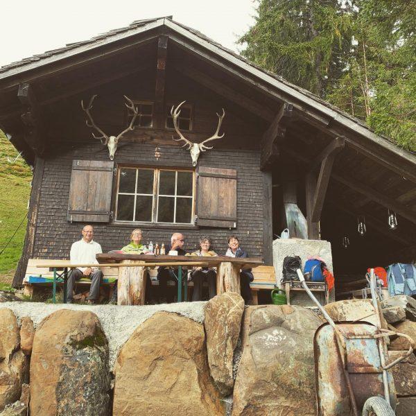Die Wanderung zur Jagdhütte war wieder wunderschön. #outdoor #urlaub #aktivurlaub #familienurlaub #abenteuer #erlebnis ...