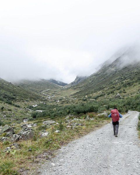 06.09.2019 // Silvrettarunde . Eine halbe Stunde nach Aufbruch von der Tübinger Hütte ...