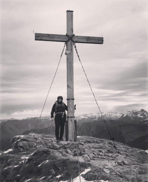 Meine erste Gipfelbesteigung ..... Dankbar für jeden Moment ..... Hoher Ifen, du warst ...
