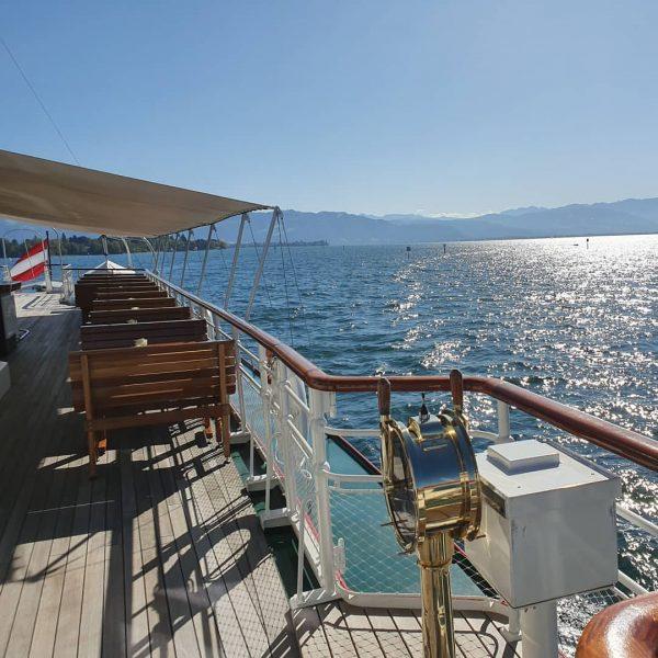 #historischeschifffahrtbodensee #lakeconstance #motorschiffoesterreich #loveboats #bodensee #tourismusvorarlberg