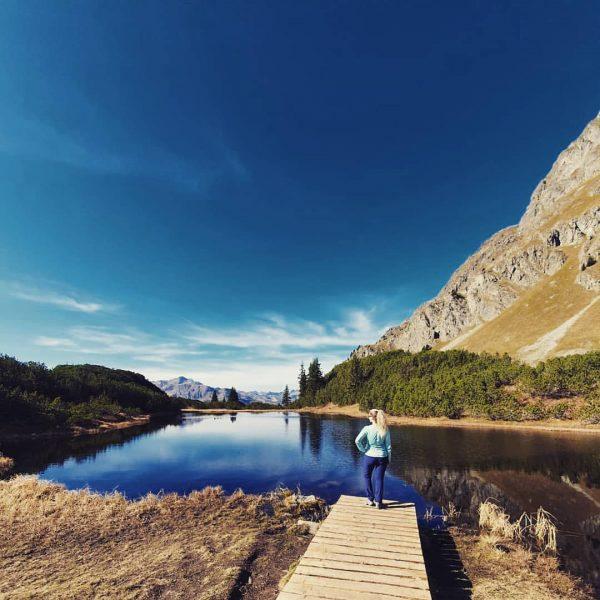 Perfekter Abschluss. Mein Bergsommer 2019 🗻 💕 . #wiegensee #silvretta #montafon #see #bergsee ...