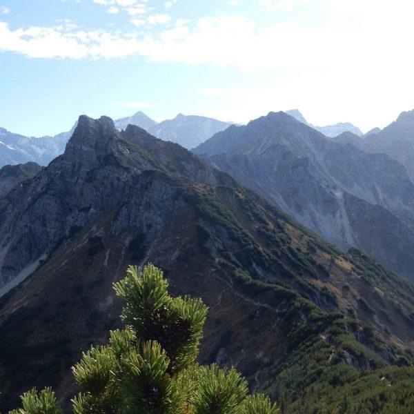 Wahnsinns-Aussicht auf der Wanderung zur #Mondspitze #Brandnertal #Vorarlberg