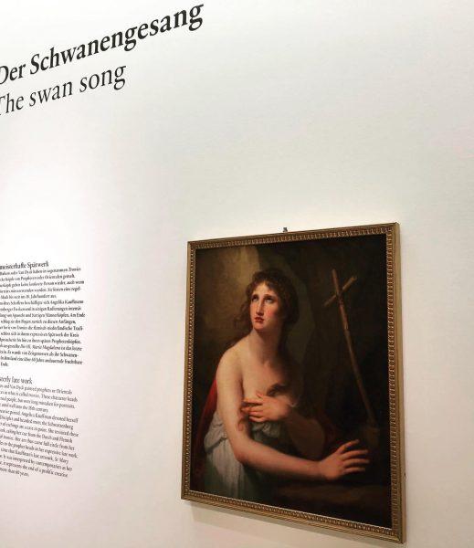 """Der """"Schwanengesang"""" der #angelikakauffmann ... zu sehen noch bis 3.11.2019 im @angelikakauffmannmuseum in ..."""