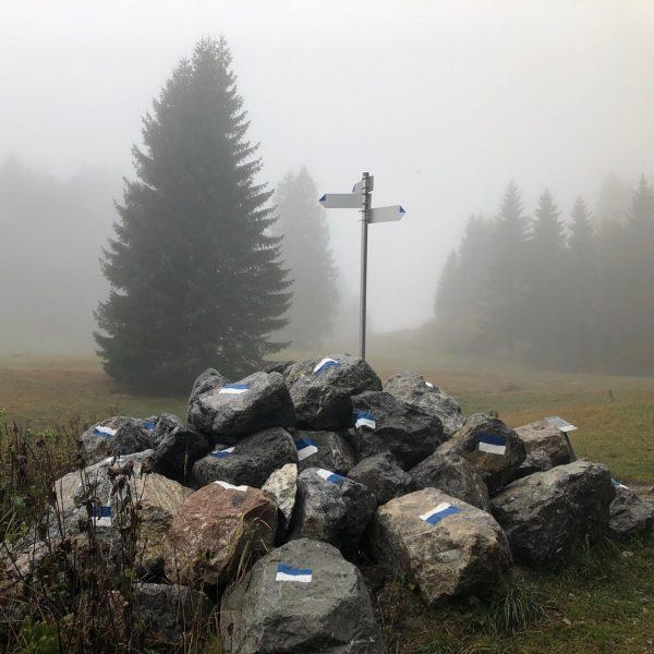. 'Alpine Art Muttersberg' der Kunstweg am Muttersberg ✨ ———————————————————— Der Nebel ist ...