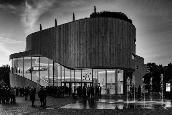 Montforthaus in #feldkirch #monochrome #vorarlberg #monfort #bnw #bnwmood #bnwphotography #bnw_greatshots #bnw_instg #bnw_shot #bnw_users ...