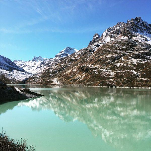 that landscape, that #nature, that colour, that silence, that #silvrettaarena in #montafon is ...