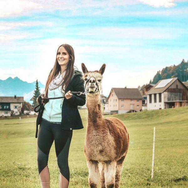 Ich hatte einen tollen Tag beim Alpaka-Wandern auf dem Thüringerberg 💕 Die Alpakas ...