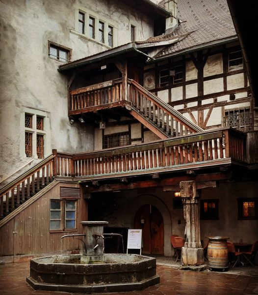 Not going to lie....Schloss (Castle) Schattenburg felt a little like Winterfell! Built approx. 1200 AD . ....