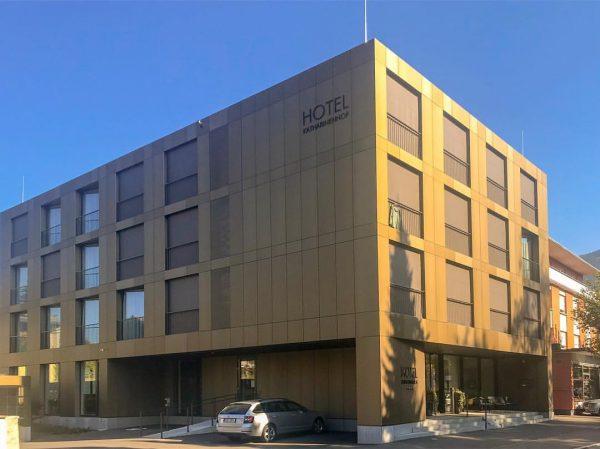 Hotel Katharinenhof - Dornbirn Architect: Johannes Kaufmann Architektur ———• #hotelkatharinenhofdornbirn #dornbirn #visitdornbirn #austria ...